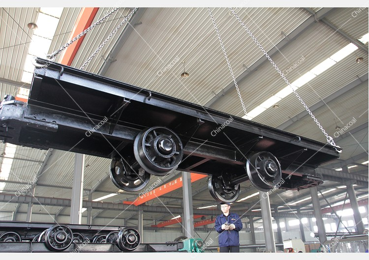 China Coal Group Exports A Batch Of Flatbed Car, Prop Pulling Winch And Railway Accessories To Malaysia