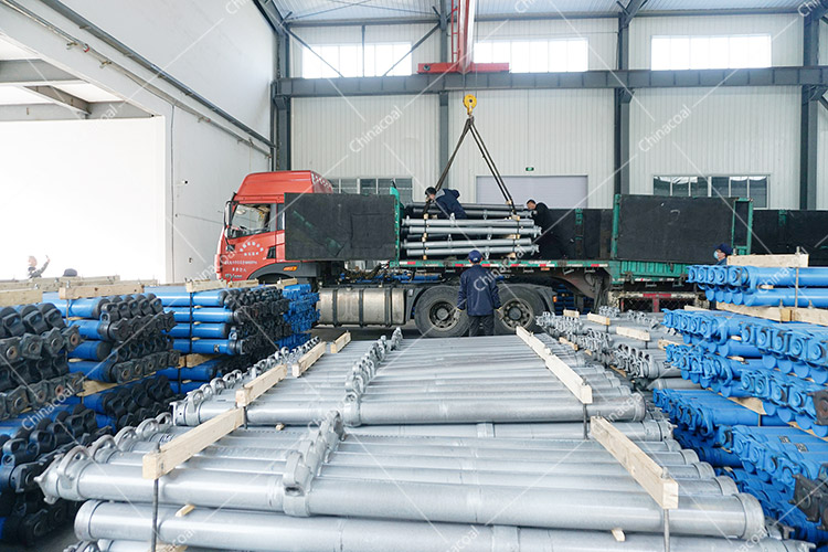 China Coal Group Sent A Batch Of Suspended Single Hydraulic Props To Changzhi, Shanxi