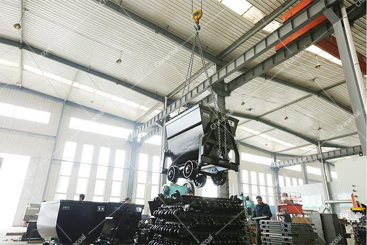China Coal Group Sent A Batch Of Bucket-Tipping Car To Shaanxi