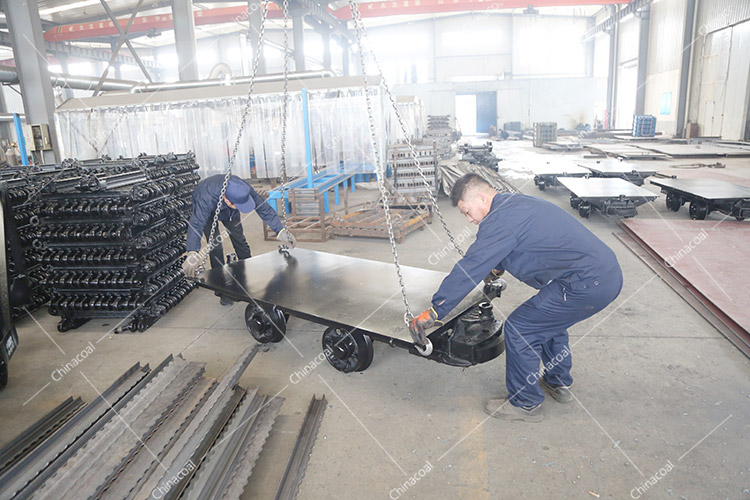 China Coal Group Sent A Batch Of Mining Flatbed Cars To Jincheng, Shanxi