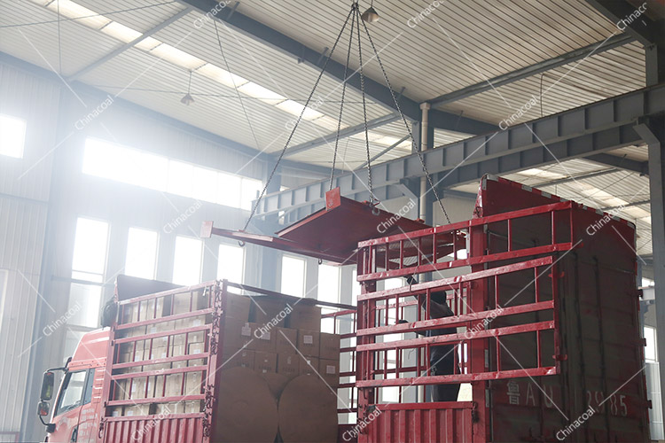 China Coal Group Sent A Batch Of Fire-Proof Fence Doors To Laiwu