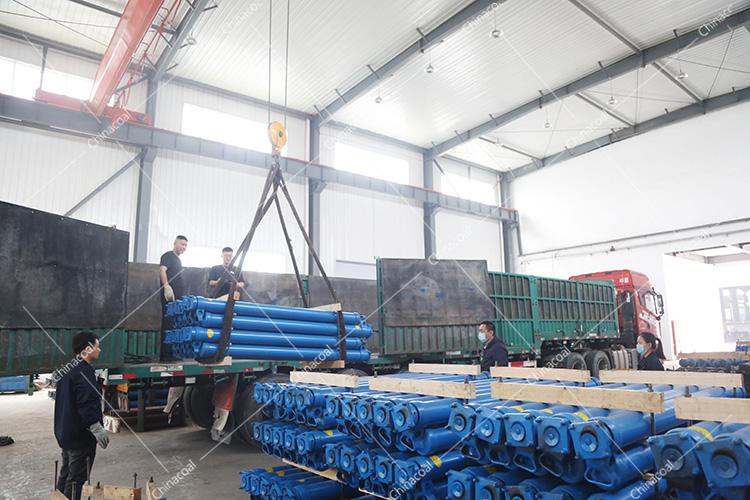 China Coal Group Sent A Batch Of Mining Single Hydraulic Prop Equipment To Handan, Hebei