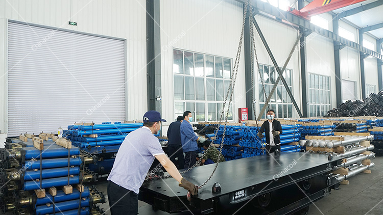 China Coal Group Sent A Batch Of Mining Flatbed Cars To Tai'an