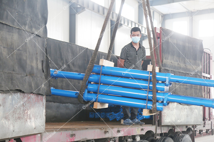 China Coal Group Sent A Batch Of Single Hydraulic Props For Mining To Handan, Hebei Province Again