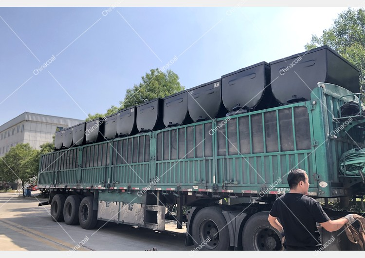 China Coal Group Sent A Batch Of Fixed Mining Cars To Shaanxi