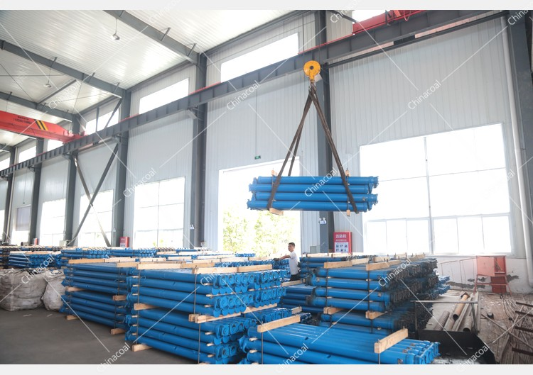 China Coal Group Sent A Batch Of Mining Single Hydraulic Props To Shanxi And Guizhou Provinces