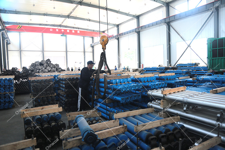 China Coal Group Sent A Batch Of Mining Single Hydraulic Props To Guizhou