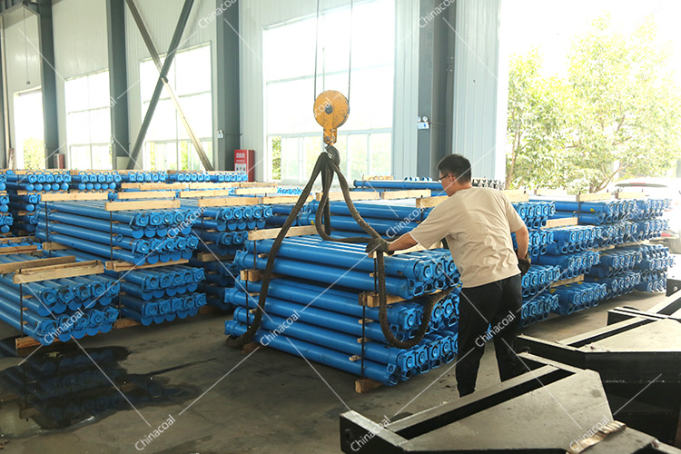 China Coal Group Sent A Batch Of Mining Single Hydraulic Props To Inner Mongolia Province