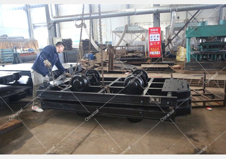 China Coal Group Sent A Batch Of Modified Mining Flatbed cars To Luliang, Shanxi