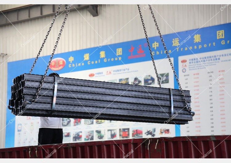 China Coal Group Sent A Batch Of Metal Roof Beams To Hebei