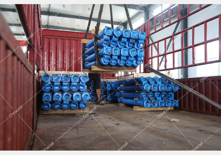 China Coal Group Sent A Batch Of Hydraulic Props To Shanxi, Hebei, And Sichuan