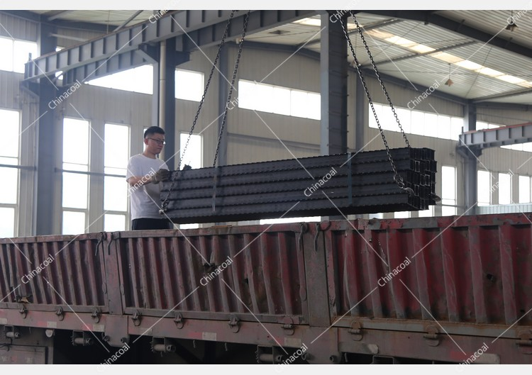 China Coal Group Sent A Batch Of Metal Roof Beams To Handan, Hebei Province