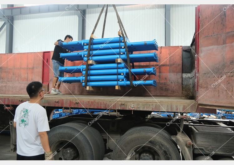China Coal Group Sent A Batch Of Mining Single Hydraulic Props To Luliang, Shanxi Again