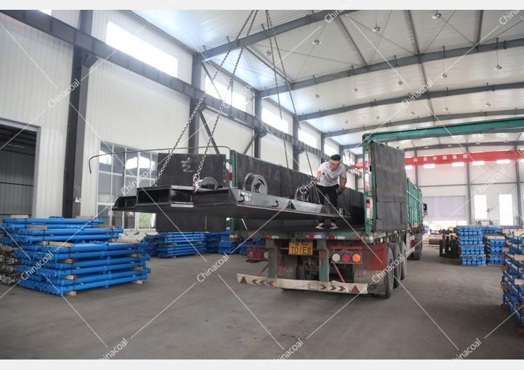 China Coal Group Sent A Batch Of Mining Flat Car To Jincheng, Shanxi
