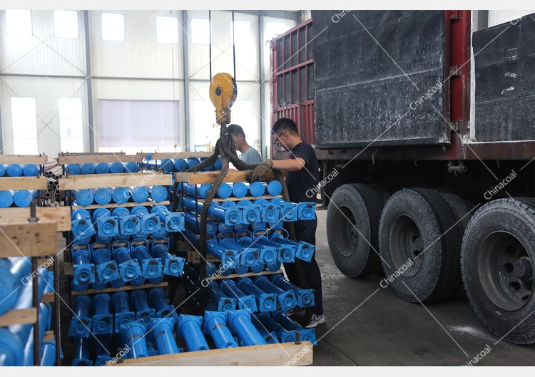 China Coal Group Sent A Batch Of Mining Single Hydraulic Props To Handan, Hebei