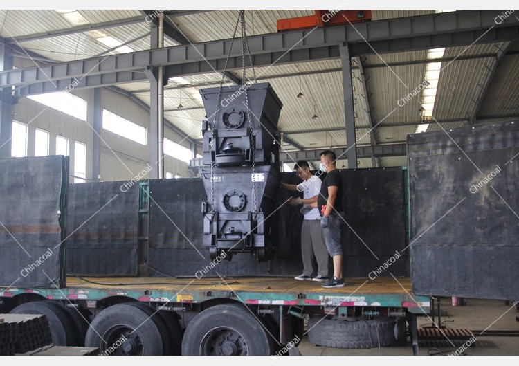 China Coal Group Sent A Batch Of Bucket Tipping Mine Car And Flat Mine Car To Tibet