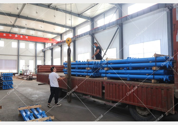 China Coal Group Sent A Batch Of Hydraulic Props To Two Major Mines