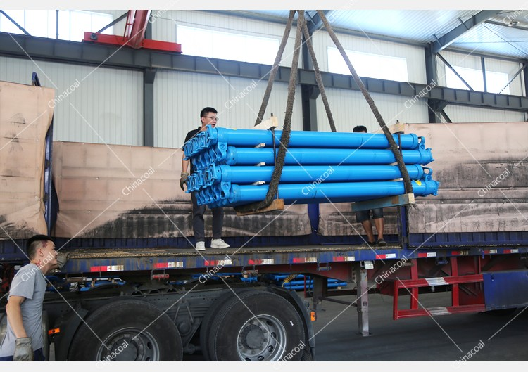 China Coal Group Sent A Batch Of Hydraulic Props To Two Major Mines In Shanxi