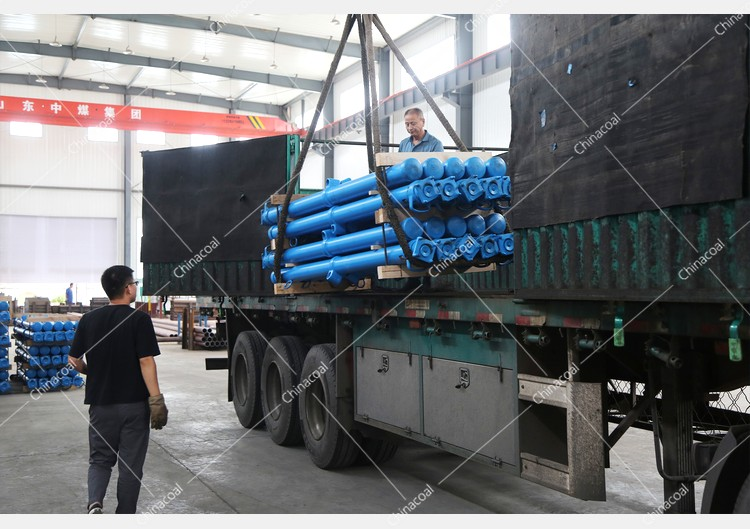 China Coal Group Sent A Batch Of Mining Single Hydraulic Props To Shanxi