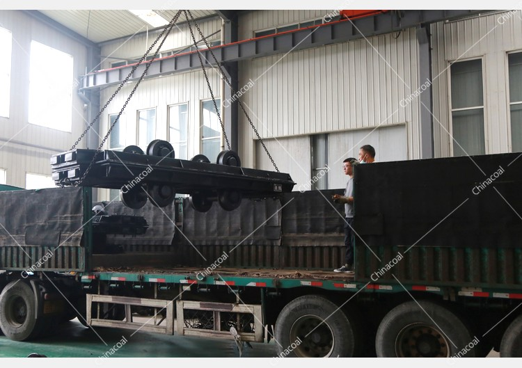 China Coal Group Sent A Batch Of Mining Flatbed Cars To Yan'An, Shaanxi
