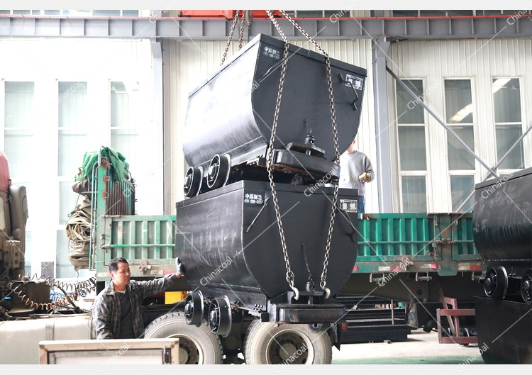 China Coal Group Sent A Batch Of Fixed Mining Car To A Mine In Anhui