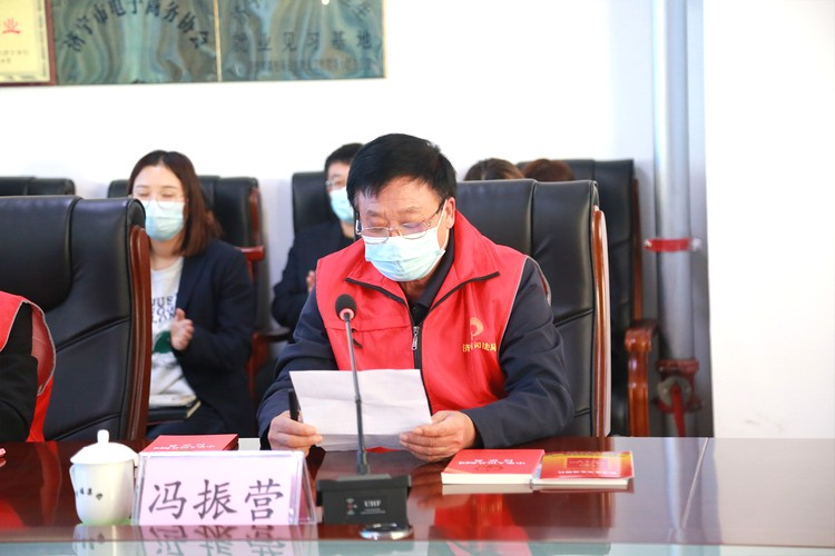 Warmly Welcome Jining New Era Civilized Practice Legal Volunteer Service Team To China Coal Group