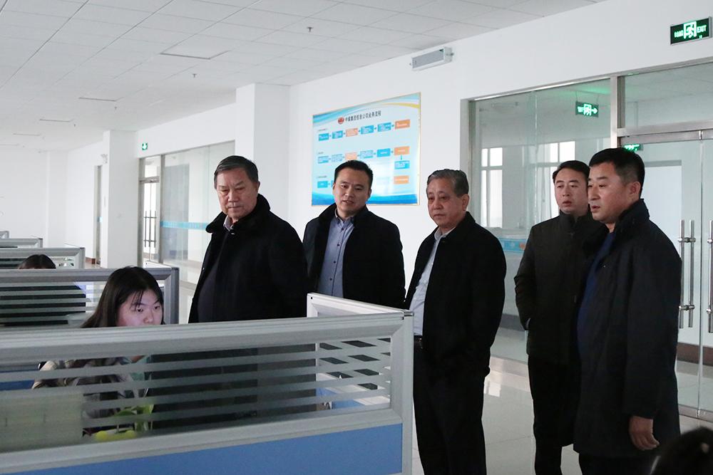 Warmly Welcome Xianhe Electromechanical Company Leaders To Visit Shandong Tiandun