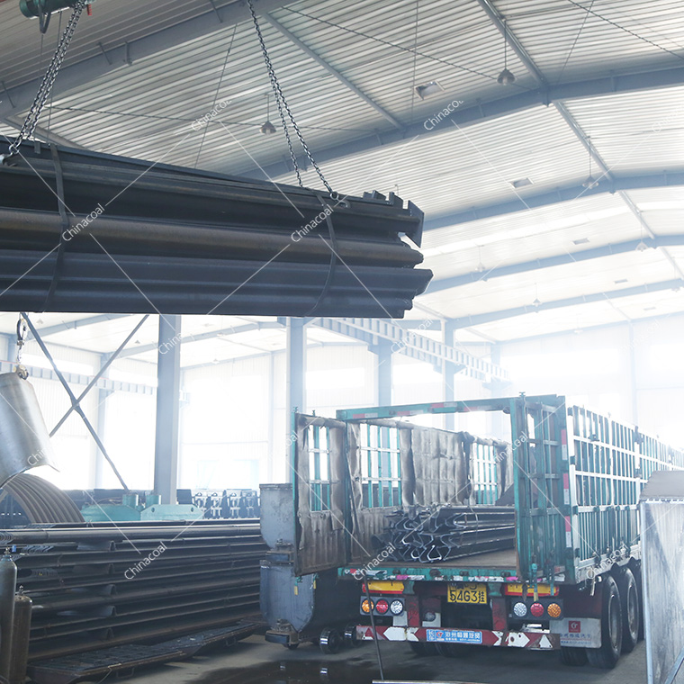 A Batch Of U-shaped Steel Supports From China Coal Group Were Sent To Qinghai