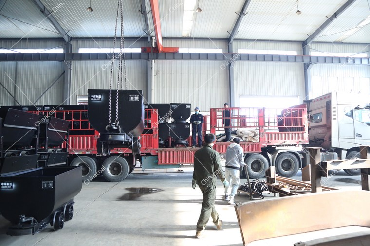 China Coal Group Sent A Batch Of Fixed Mine Cars And U-Shaped Steel Brackets