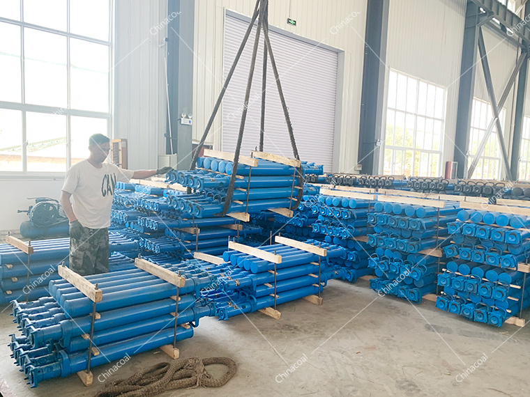 China Coal Group A Batch Mine Single Hydraulic Prop Sent Separately Two Coal Mines In Shanxi
