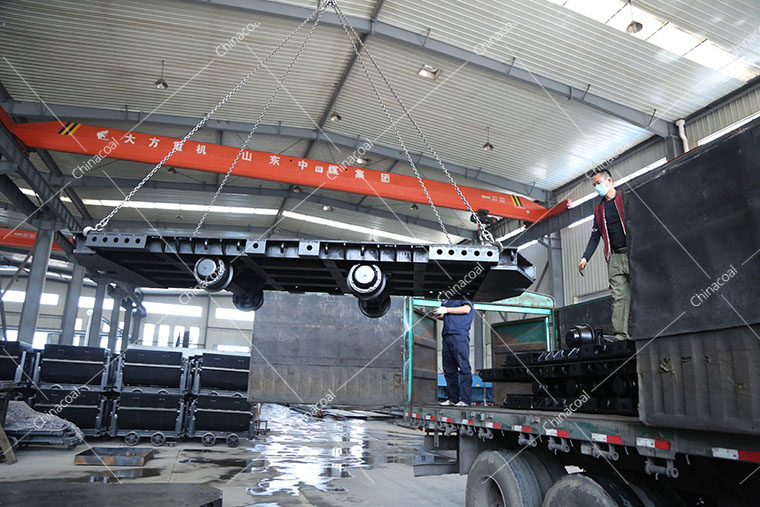 A Batch Of Mining Flatbed Trucks From China Coal Group Was Sent To Ningxia Province