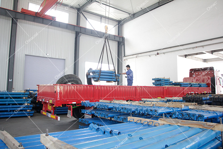 China Coal Group Send A Batch Mine Single Hydraulic Prop To Hunan