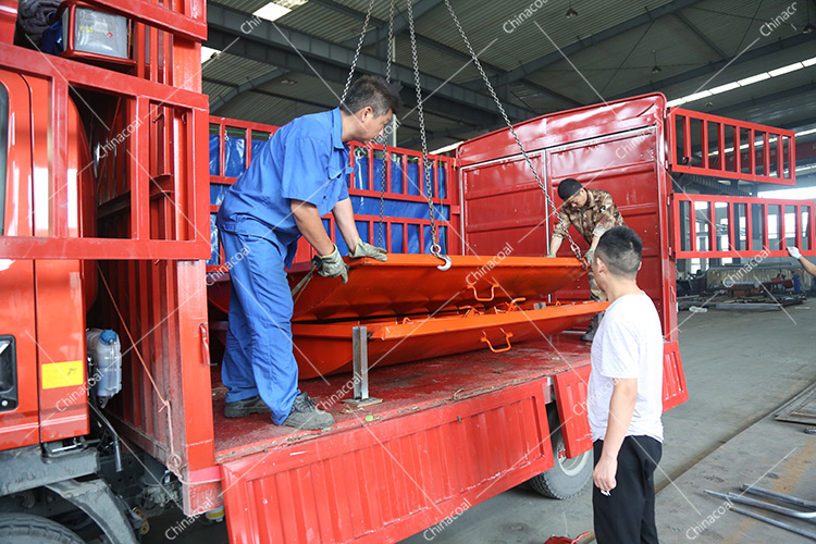 China Coal Group Send A Batch Of Waterproof Gates To Yunnan Province