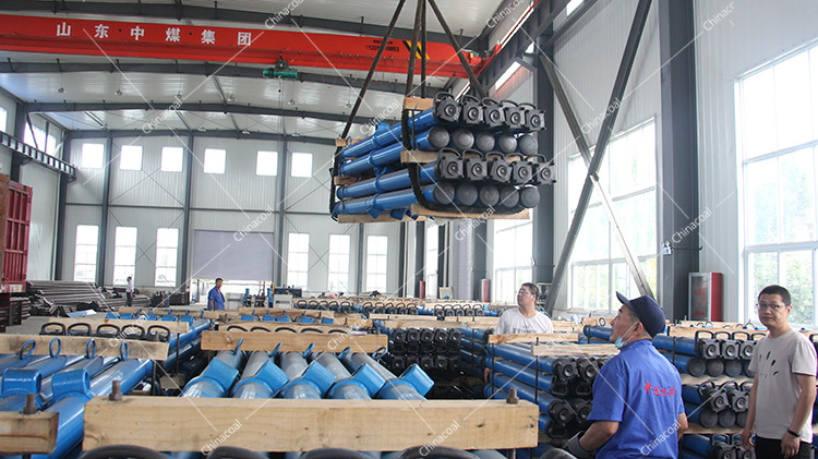 China Coal Group Send A Batch Of Tipping Bucket Car And Hydraulic Prop Equipment To Anhui And Hunan Respectively