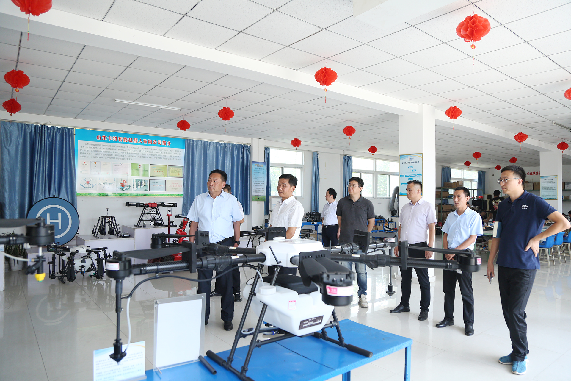 Warmly Welcome The Leaders Of Jining High-End Equipment Industry Research Group To Visit China Coal Group