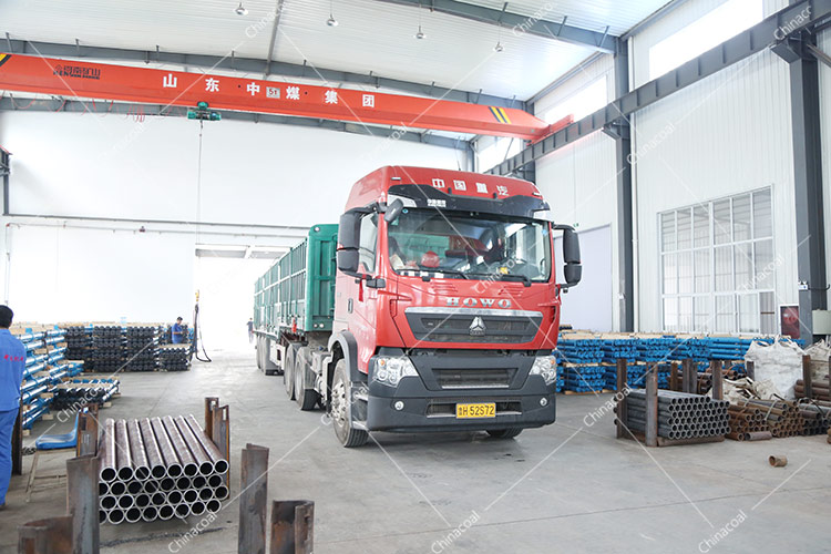 China Coal Group Sent A Batch Mine Single Hydraulic Prop To Shanxi Linfen