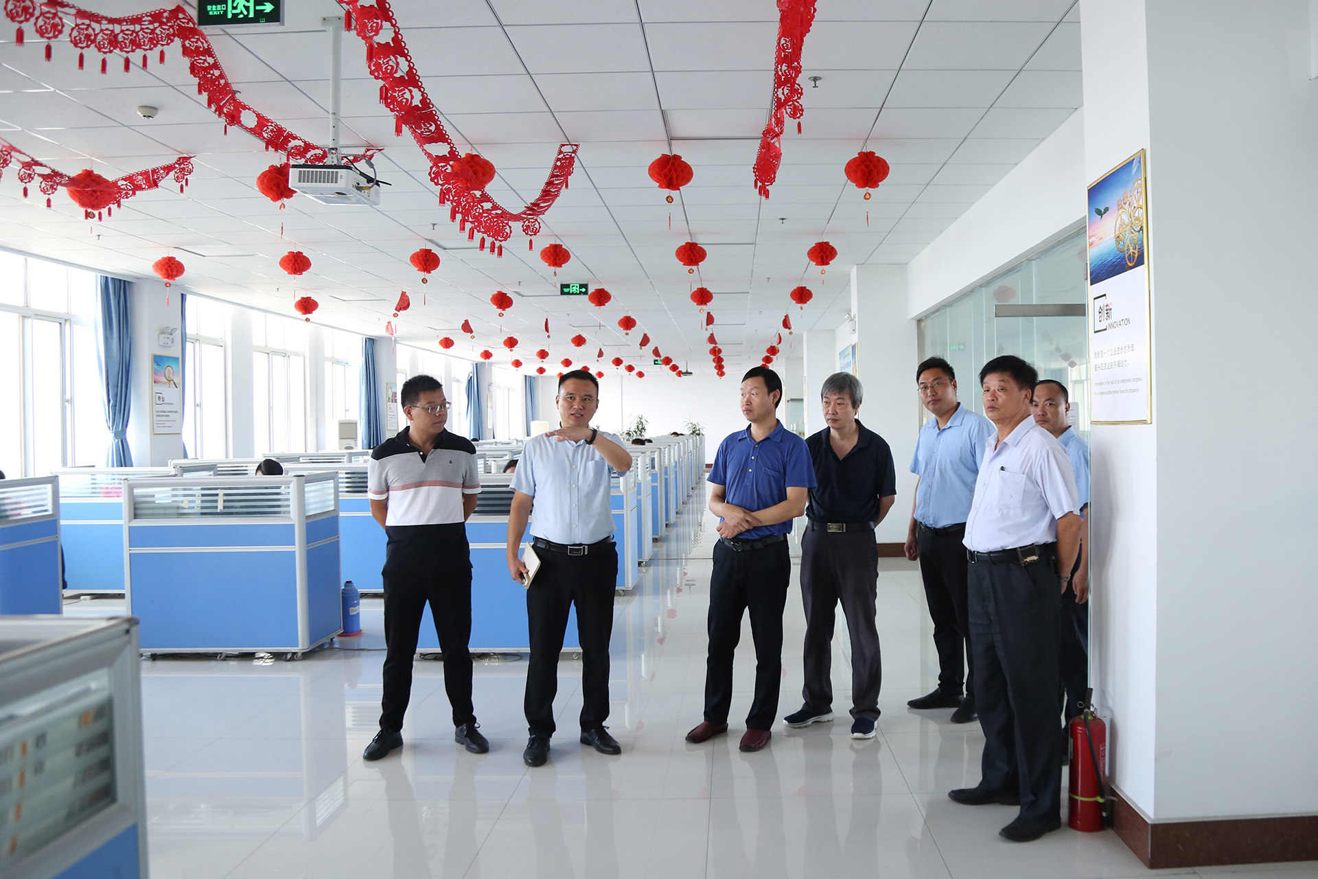 Warm Welcome National Safety Standard Inspection Center Expert Group Visit China Coal Group Site Review