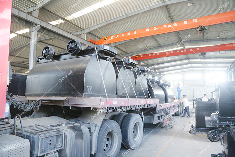 China Coal Group'S Second Batch Of Fixed Mine Cart Sent To Shanghai Port