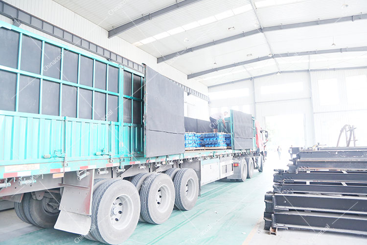 A Batch Of Mining Equipment Of China Coal Group Was Exported To Spain And The Middle East