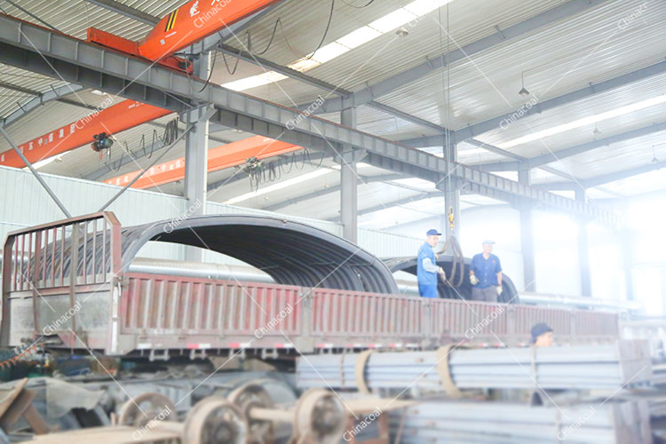 China Coal Group Send A Batch Of New U-Shaped Steel Supports To Qufu