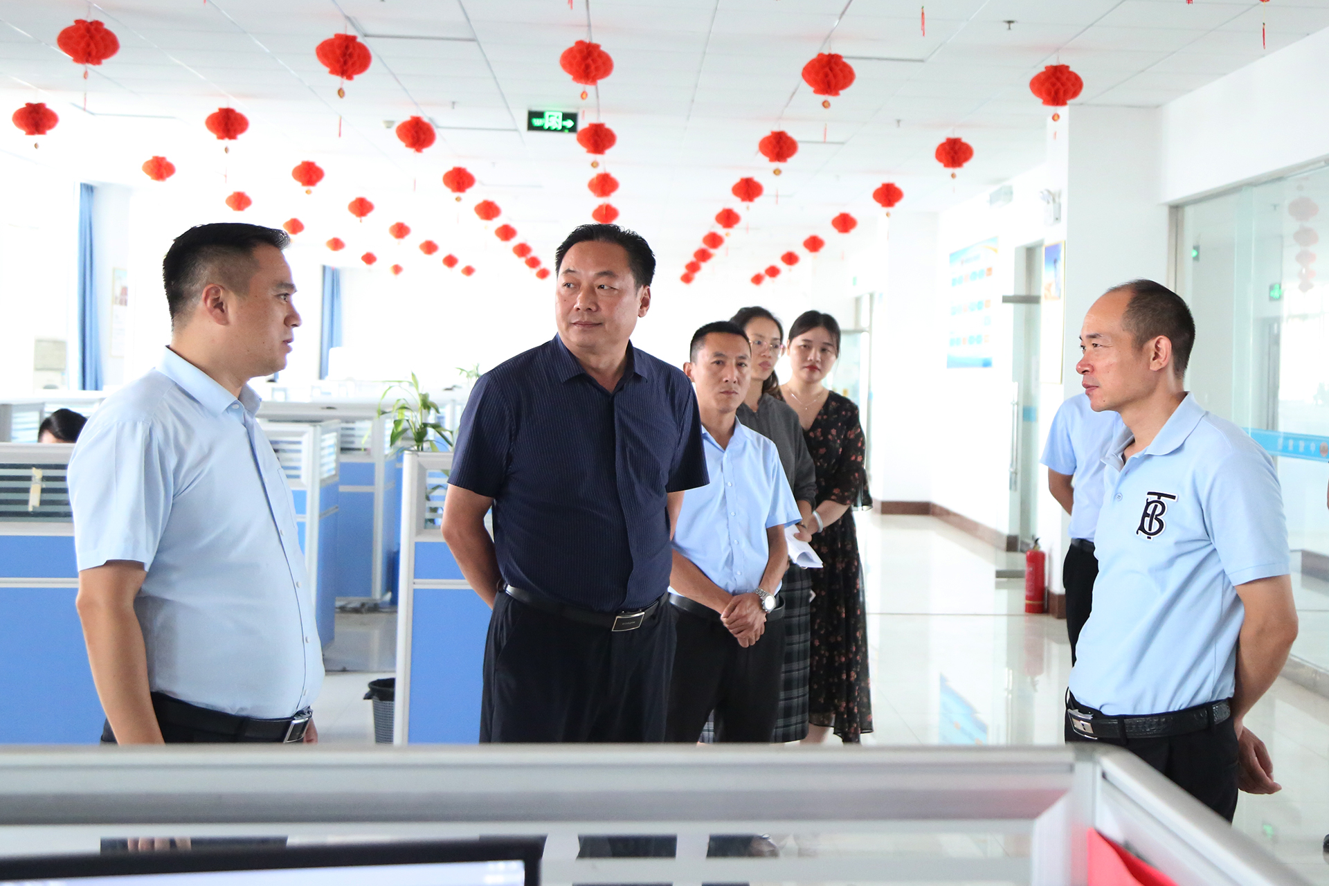 Warmly Welcome The Leaders Of The Jining Municipal Committee Of The Communist Youth League To Visit China Coal Group