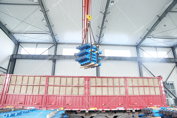 China Coal Group Sent A Batch Of Mining Single Hydraulic Props To Bazhong City, Sichuan Province