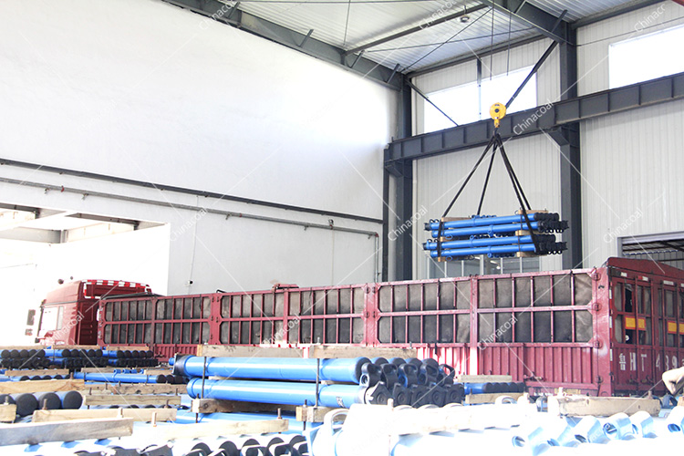 China Coal Group Bucket Tipping Mine Car,Flat Mine Car,Single Hydraulic Prop Sent To  Shanxi And Heilongjiang