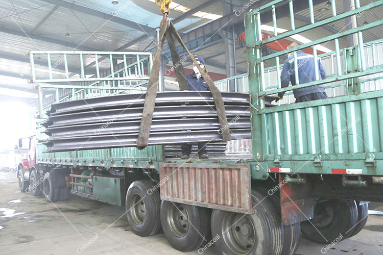 China Coal Group Sent A Batch Of New U-Shaped Steel Supports To Anshan, Liaoning