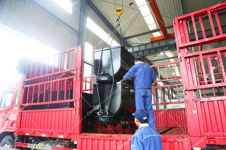 China Coal Group Sent A Batch Of Hydraulic Props And Mining Trucks To Heilongjiang And Shanxi