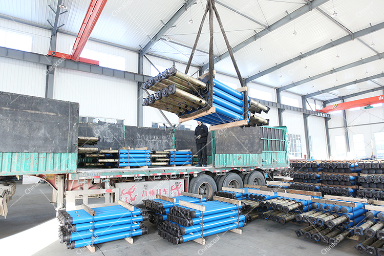 China Coal Group Sent A Batch Of Mining Single Hydraulic Props To Yibin, Sichuan Province
