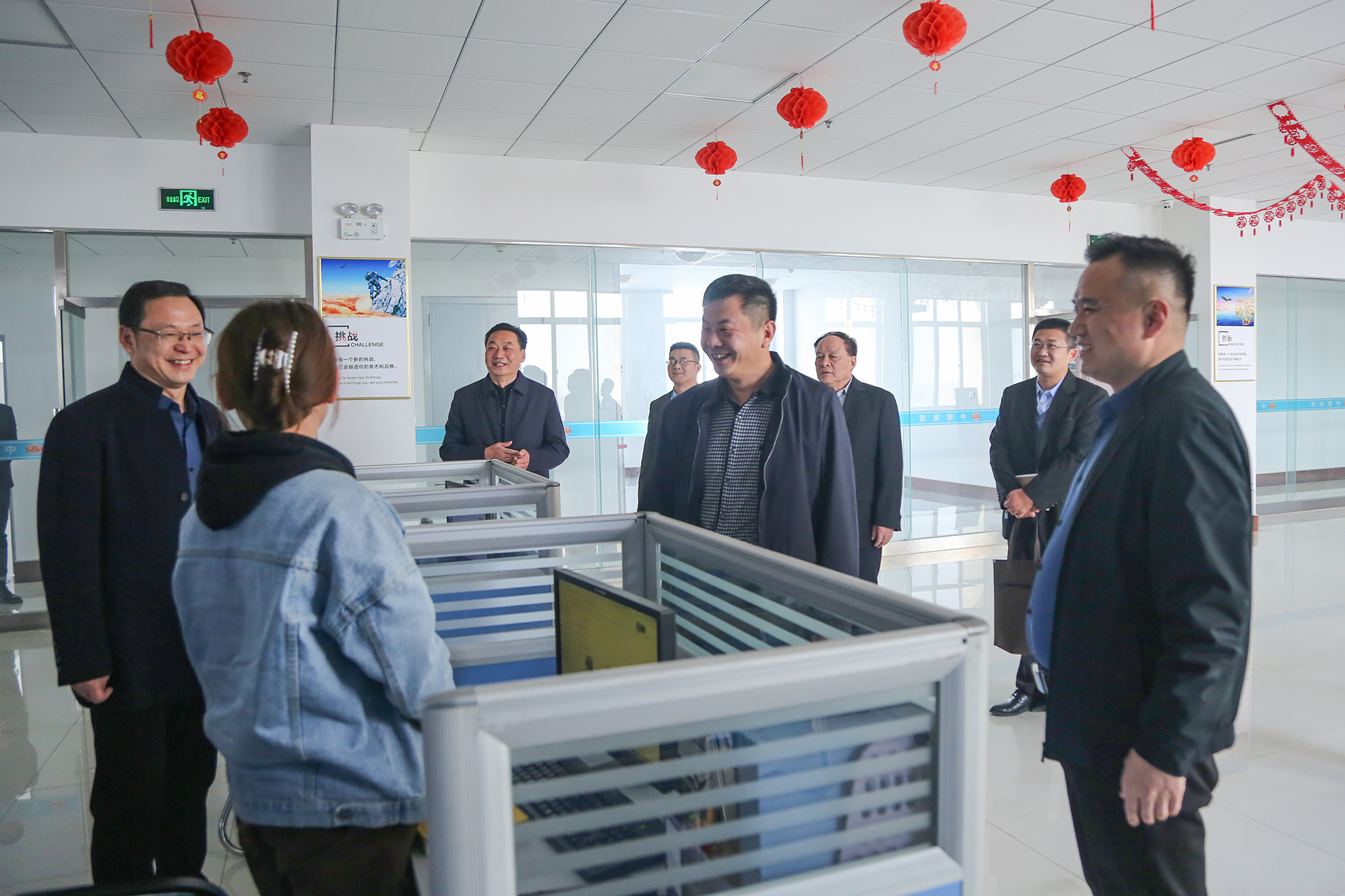 Warmly Welcome The Leaders Of Jining Technician College To Visit China Coal Group For Inspection And Cooperation
