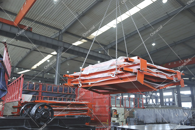 China Coal Group Sent A Batch Of Fire Proof Fence Doors To Anhui Province