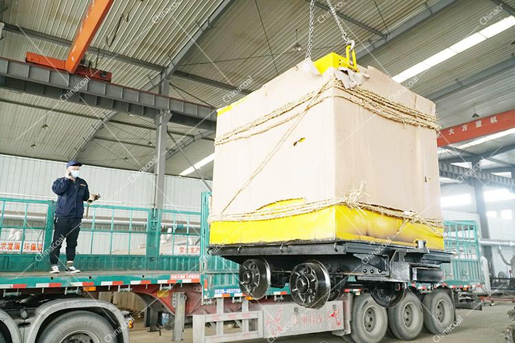 China Coal Group'S Two Modified Mine Cars Sent To Jilin Again