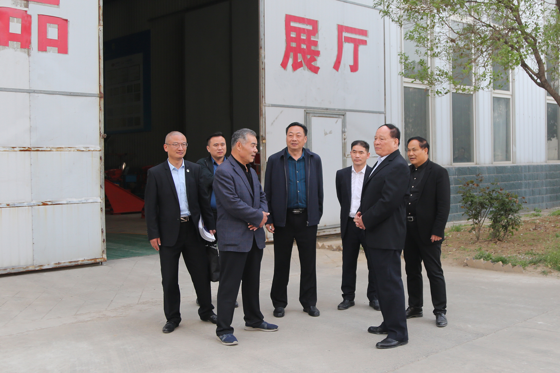 Warmly Welcome Jining Weishan Lake Chamber Of Commerce Chairman Jiao And His Party To Visit China Coal Group For Inspection And Cooperation